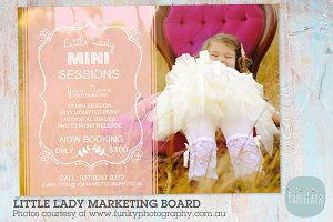 IG002 Little Lady Marketing Board