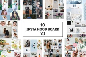 10 Insta Mood Board Templates V.2