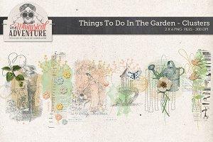 Garden Mixed Media