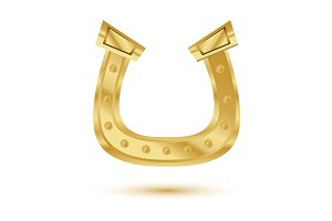 Golden Horseshoe Isolated