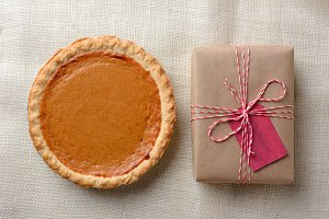 Pumpkin Pie and Present