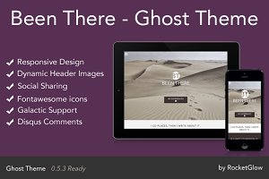 Been There - Responsive Ghost Theme
