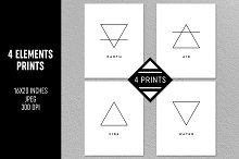 Four Elements Prints