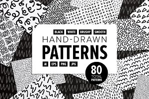 Hand-Drawn Pattern Bundle
