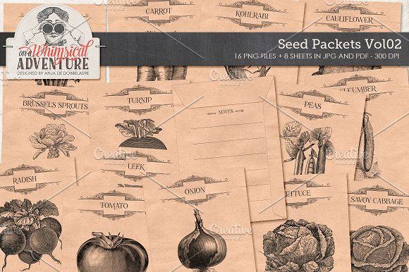 Seed Packets Vol02 Vegetables