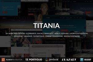 Titania - Responsive Joomla Template