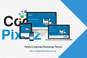 Pahilo Corporate Bootstrap Theme
