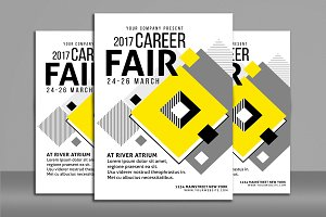 Career Fair Flyer Poster
