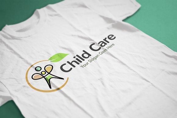Child Kids Care Logo