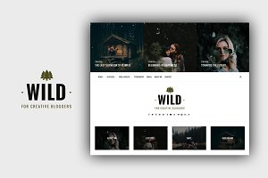 Wild - A Responsive Wordpress Theme