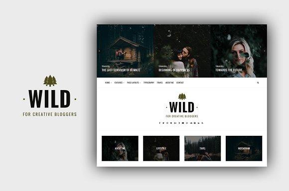 Wild - A Responsive Wordpress Theme