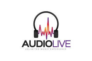 Audio Live Logo