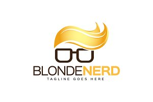Blonde Nerd Logo