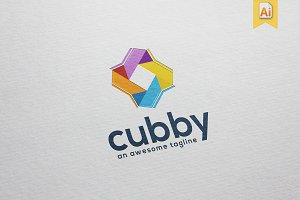 Cubby Logo Template