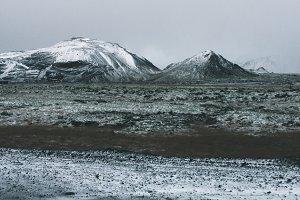 Iceland Mountain Range