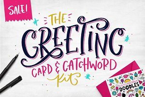The Greeting Card & Catchword Kit