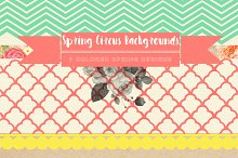 Spring Circus Backgrounds