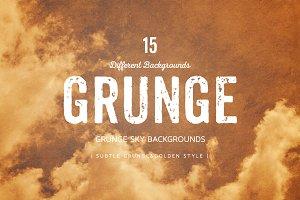 Grunge SKY BGS | Golden style
