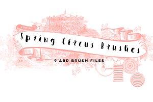Spring Circus Brushes