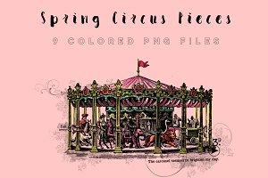 Spring Circus Pieces