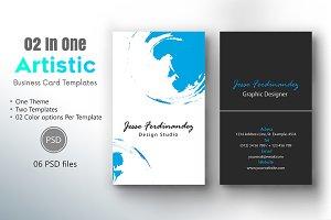 Artistic Business Card Template-009