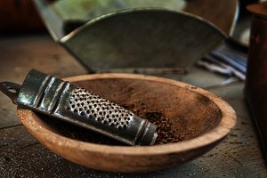 Old Fashion Spice Grater