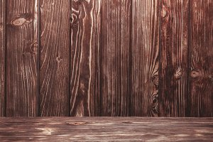 Wooden wall