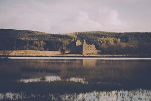 Old Castle in Scotland
