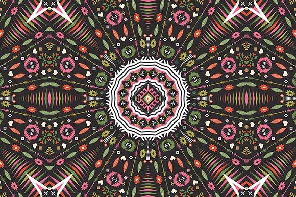 Ornamental Round Aztec Pattern Graphic Patterns Creative Market Magnificent Aztec Pattern