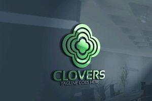 Clover / Four Leaf Logo