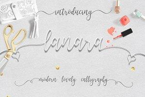 Lanara Script Font