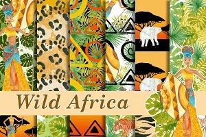 Wild africa patterns