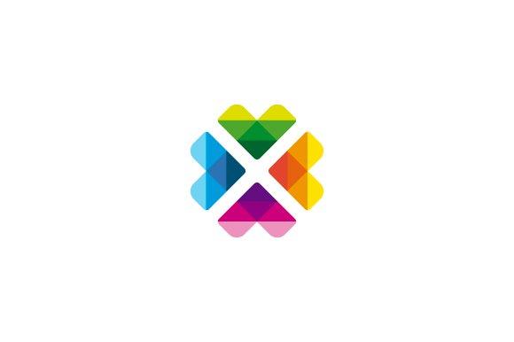 Flower Abstract Modern Logo