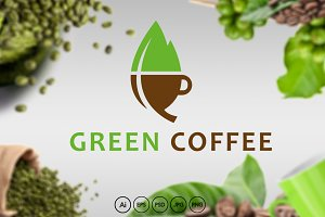 Green Coffee Logo
