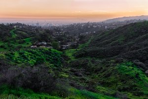 nature landscape with hills