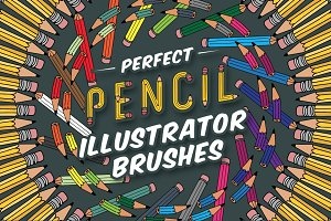Perfect Pencil Illustrator Brushes