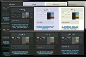 Bootstrap 4 Swatch Bundle