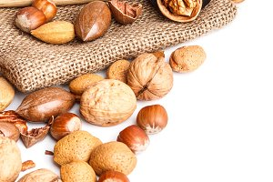 Varieties of nuts