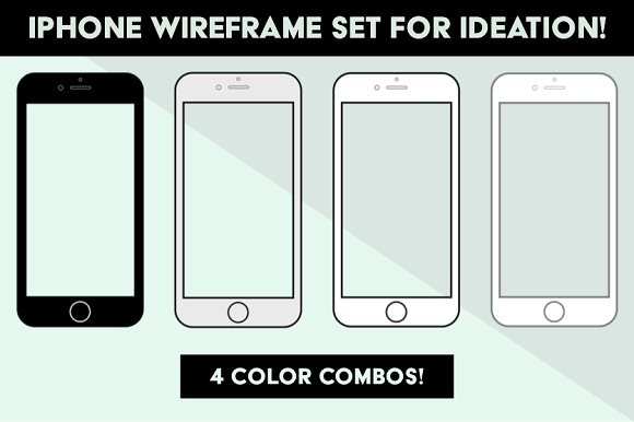 IPhone Wireframes For Ideation Stage
