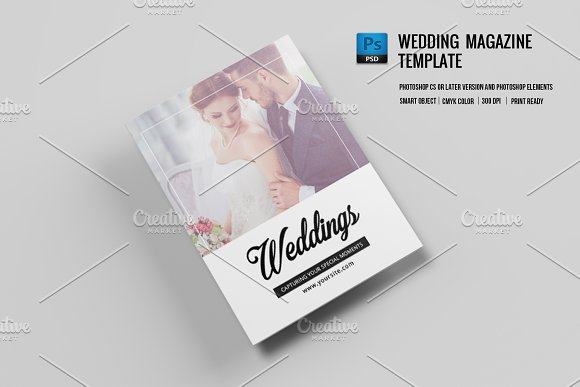 Wedding Photographer Magazine V671 Brochures