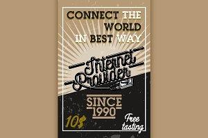 internet provider banner
