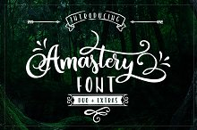 font with swashes