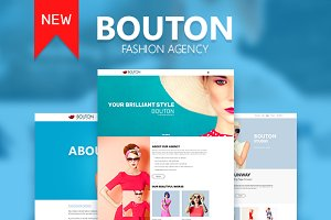 Bouton Fashion & Modeling Site Theme