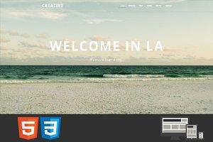Creative - HTML Template
