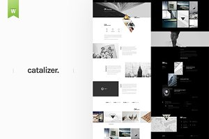 Catalyzer | Web PSD Template