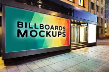 Billboard Mockup at Night #31