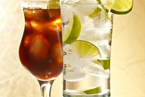 Vodka and cola