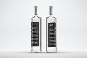 Distilled Spirits Bottle Mockup no.3