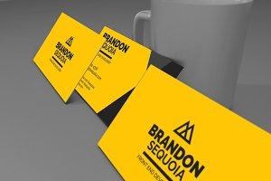 Brandon Sequoia - Business Card