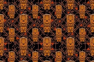 Tribal Totem Pattern